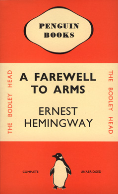 essays on a farewell to arms There are two kinds of papers we keep see constantly in a farewell to arms this kind: i had his papers in my pocket and would write his family (3067) – identification documents, military documents, and the like.